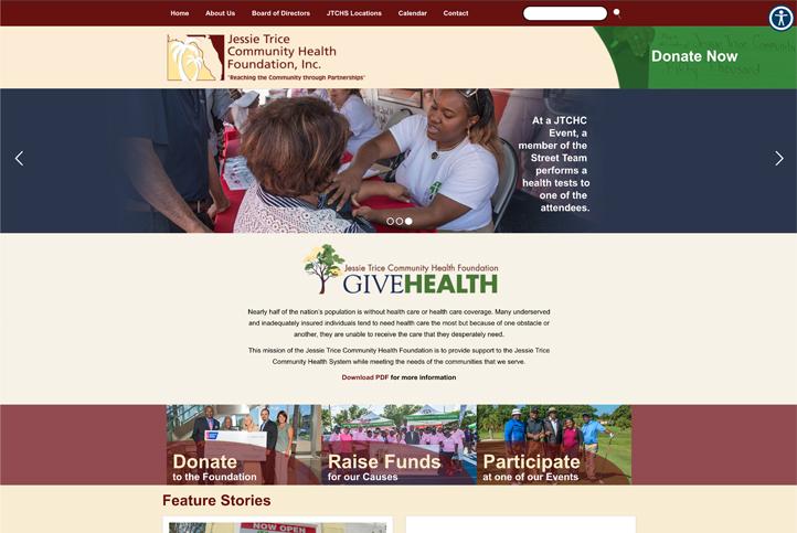 Jessie Trice Community Health Foundation Gets Website Makeover